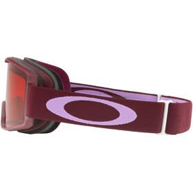 Oakley Line Miner Lunettes de ski Enfant, port lavendar/prizm snow rose